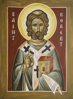St Robert Poster by Julia Bridget Hayes