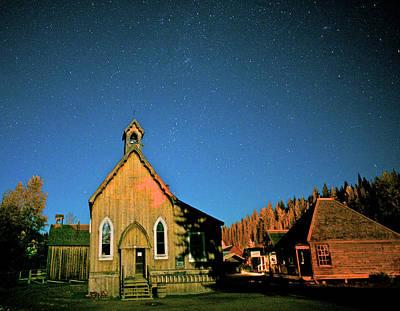 St Savior's Church Under A Summer Night Poster by Richard Wright