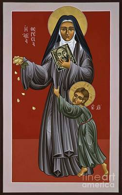 St. Therese Of Lisieux Doctor Of The Church 043 Poster by William Hart McNichols