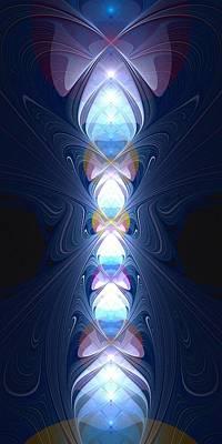 Staff Of Light Poster by Anastasiya Malakhova