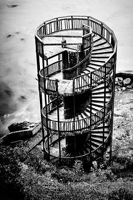 Staircase To Nowhere Poster by Aron Kearney