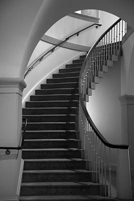 Stairway Study II Poster by Steven Ainsworth
