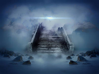 Stairway To Heaven Poster by Mountain Dreams