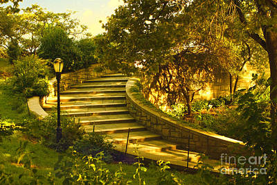 Stairway To Nirvana Poster by Madeline Ellis