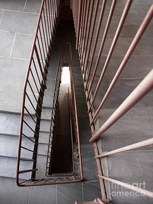 Stairwell Poster by Bernard Jaubert