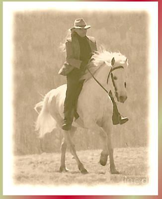 Stallion Strides Poster by Patricia Keller