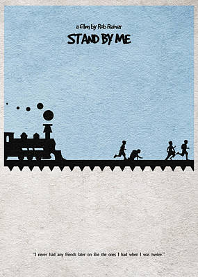 Stand By Me Poster by Ayse Deniz