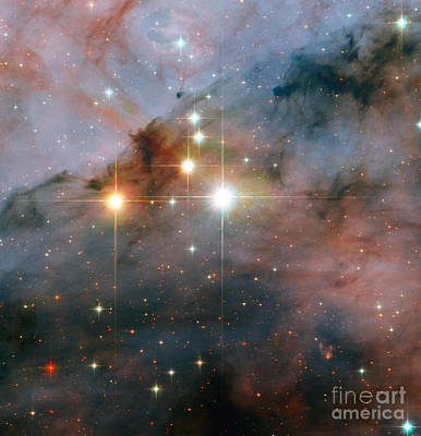 Star Cluster Trumpler 16 Poster by Science Source