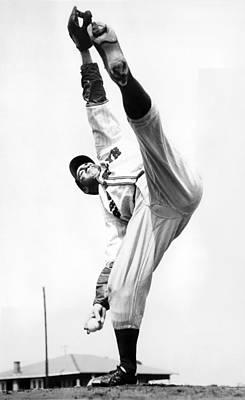 Star Pitcher Van Lingo Mungo Poster by Underwood Archives