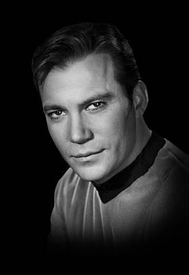 Star Trek Kirk Poster by Daniel Hagerman