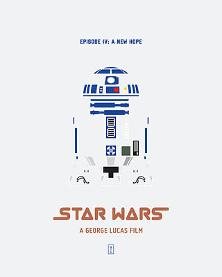 Star Wars Poster by Smile In The  Mind