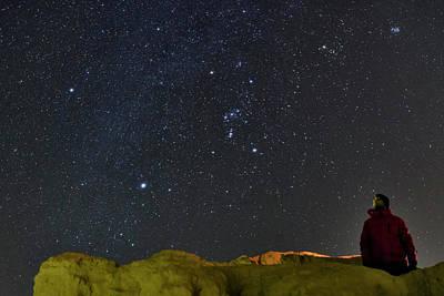 Stargazing In Dasht-e Kavir Poster by Babak Tafreshi