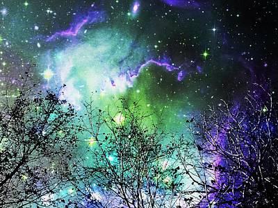 Starry Night Poster by Anastasiya Malakhova