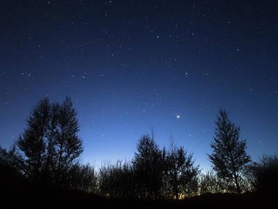 Stars Corona Borealis And Arcturus Poster by Jeff Dai