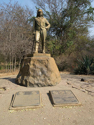 Statue Of David Livingstone Poster by Panoramic Images