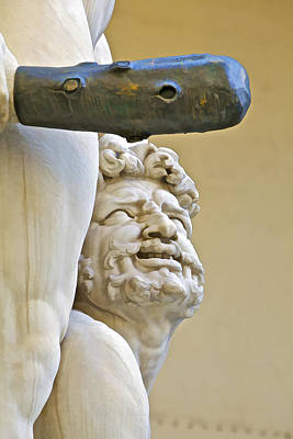 Statues Of Hercules And Cacus Poster by David Letts