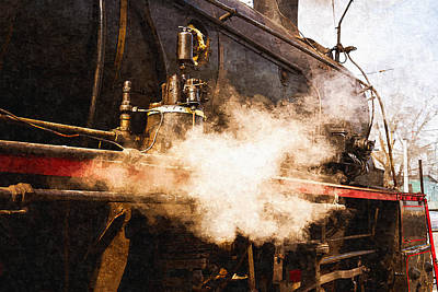 Steam And Iron - Ready For Departure Poster by Alexander Senin