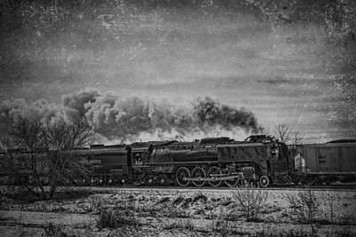Steam Engine Poster by Jeff Swanson