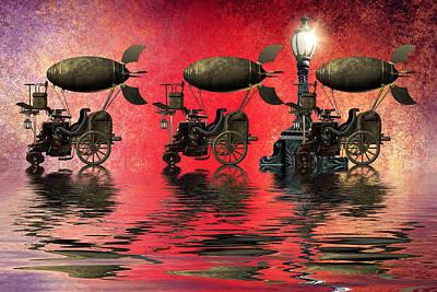 Steampunk Poster by Sharon Lisa Clarke