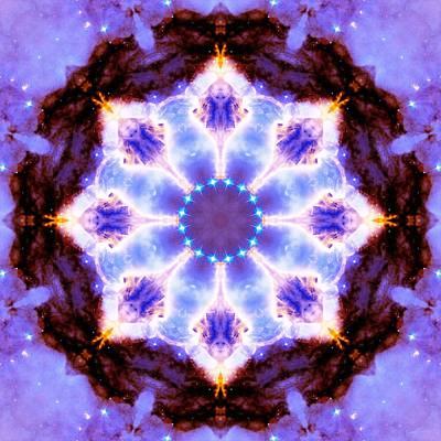 Stellar Spiral Eagle Nebula II Poster by Derek Gedney
