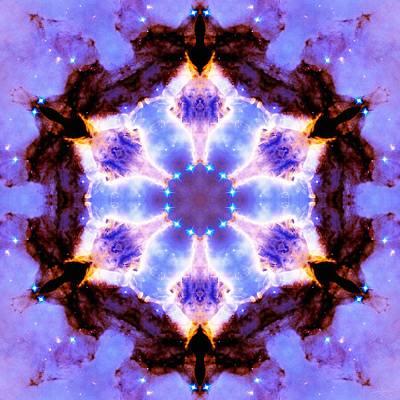 Stellar Spiral Eagle Nebula IIi Poster by Derek Gedney