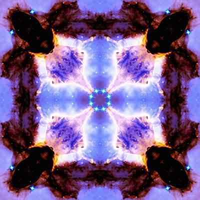 Stellar Spiral Eagle Nebula V Poster by Derek Gedney
