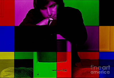Steve Jobs Painting Poster by Marvin Blaine