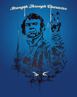 Steve Mcqueen Poster by Pop Culture Prophet
