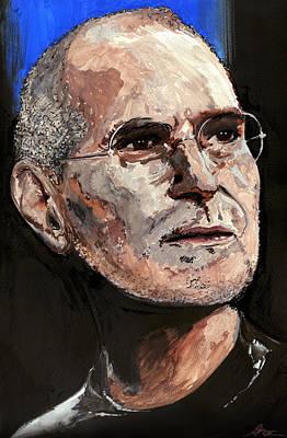 Steven Paul Jobs Poster by Gordon Dean II
