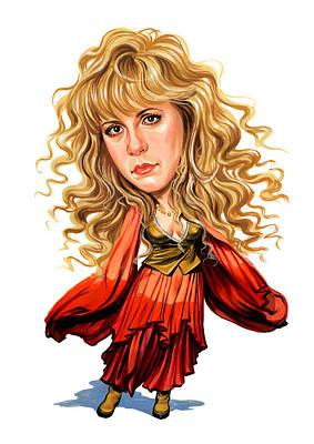 Stevie Nicks Poster by Art