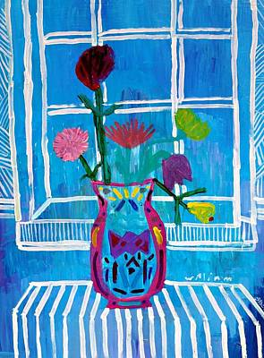 Still Life By Four Painters Poster by Janet Ashworth