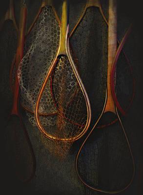Still Life - Fishing Nets Poster by Jeff Burgess