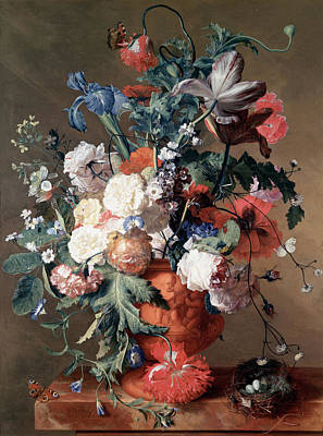 Still Life Poster by Jan van Huysum