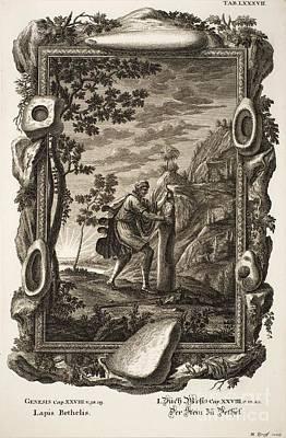 Stone Tools, Johann Scheuchzer, 1731 Poster by Paul D. Stewart