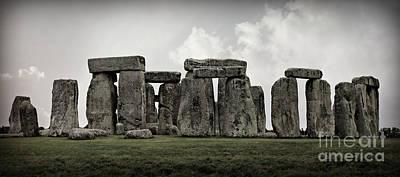 Stonehenge -- Mood 2 Poster by Stephen Stookey