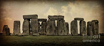 Stonehenge -- Mood 3 Poster by Stephen Stookey