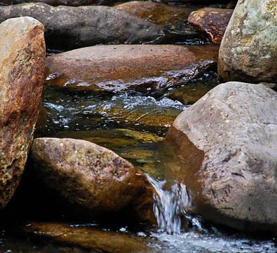 Stones Flow Poster by Christi Kraft