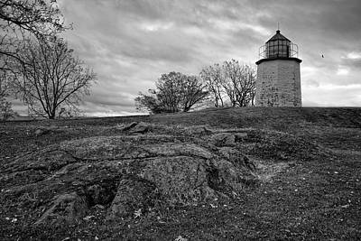 Stony Point Lighthouse Poster by Joan Carroll