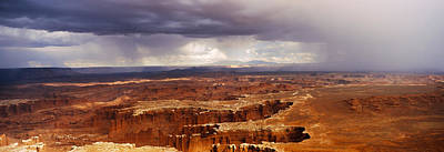 Storm Clouds Over Canyonlands National Poster by Panoramic Images