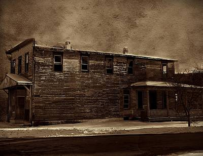 Storm Of 1888 Poster by David Dehner