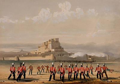 Storming Of Khelat, The Advance Poster by Lieutenant Thomas Wingate