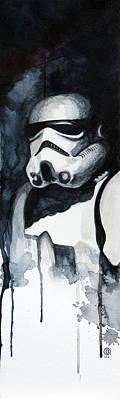 Stormtrooper Poster by David Kraig
