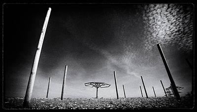 Strange Field Poster by Emmanouil Klimis