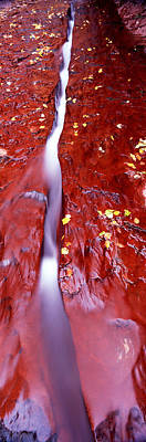 Stream Flowing Through Rocks, North Poster by Panoramic Images