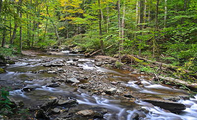 Stream Of Serenity Poster by Frozen in Time Fine Art Photography
