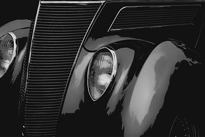 Streetrod 1937 Ford Poster by Jack Zulli