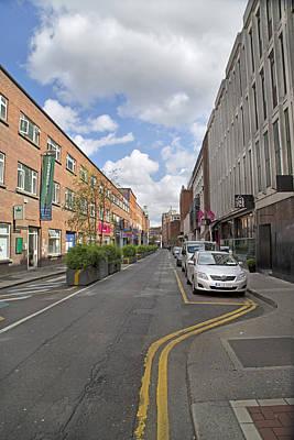 Streets Dublin Ireland Poster by Betsy C Knapp