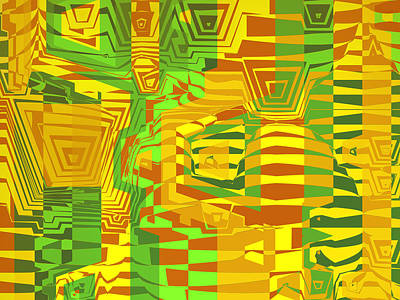 Camouflage Poster by Herb Briley