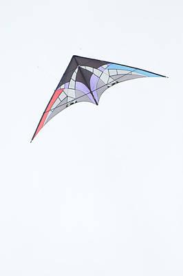 Stunt Kite Windscape Kite Festival 2011 Poster by Rob Huntley