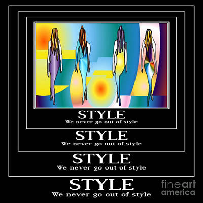 Style Poster by Kim Peto